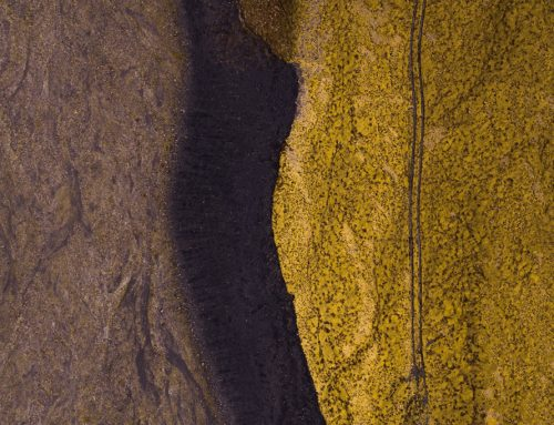 Abstract Aerial Photography in Iceland
