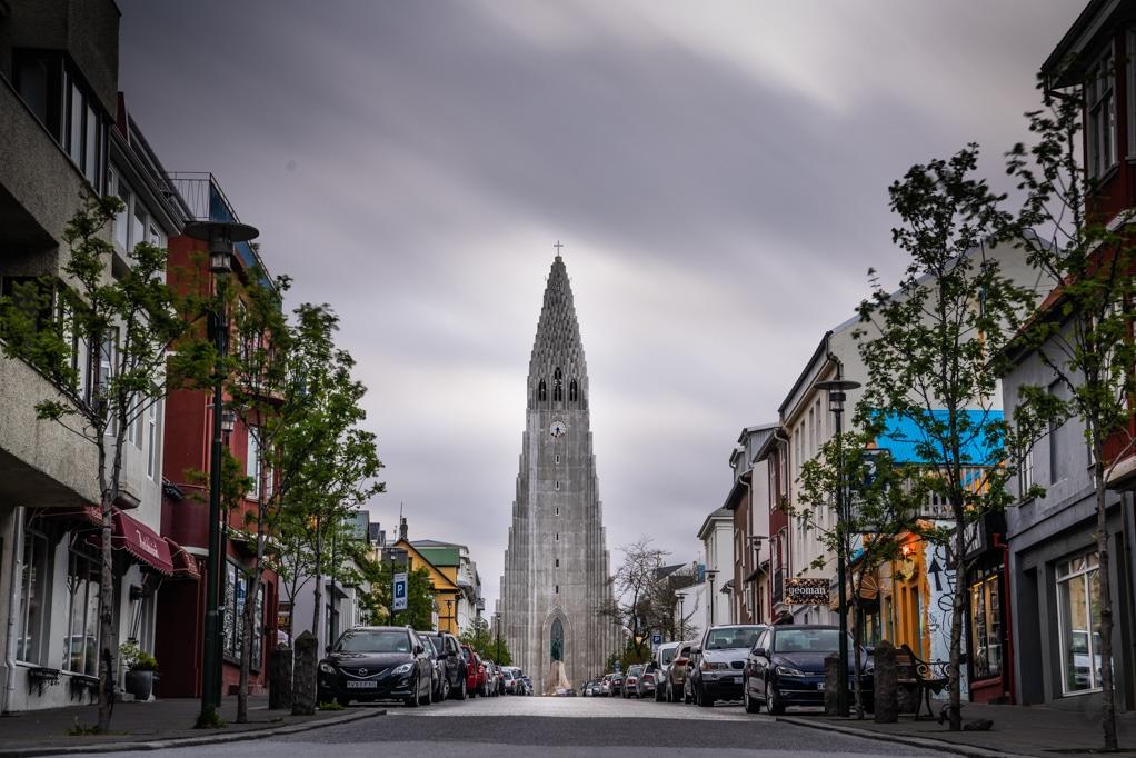 Reykjavic Church Town Centre