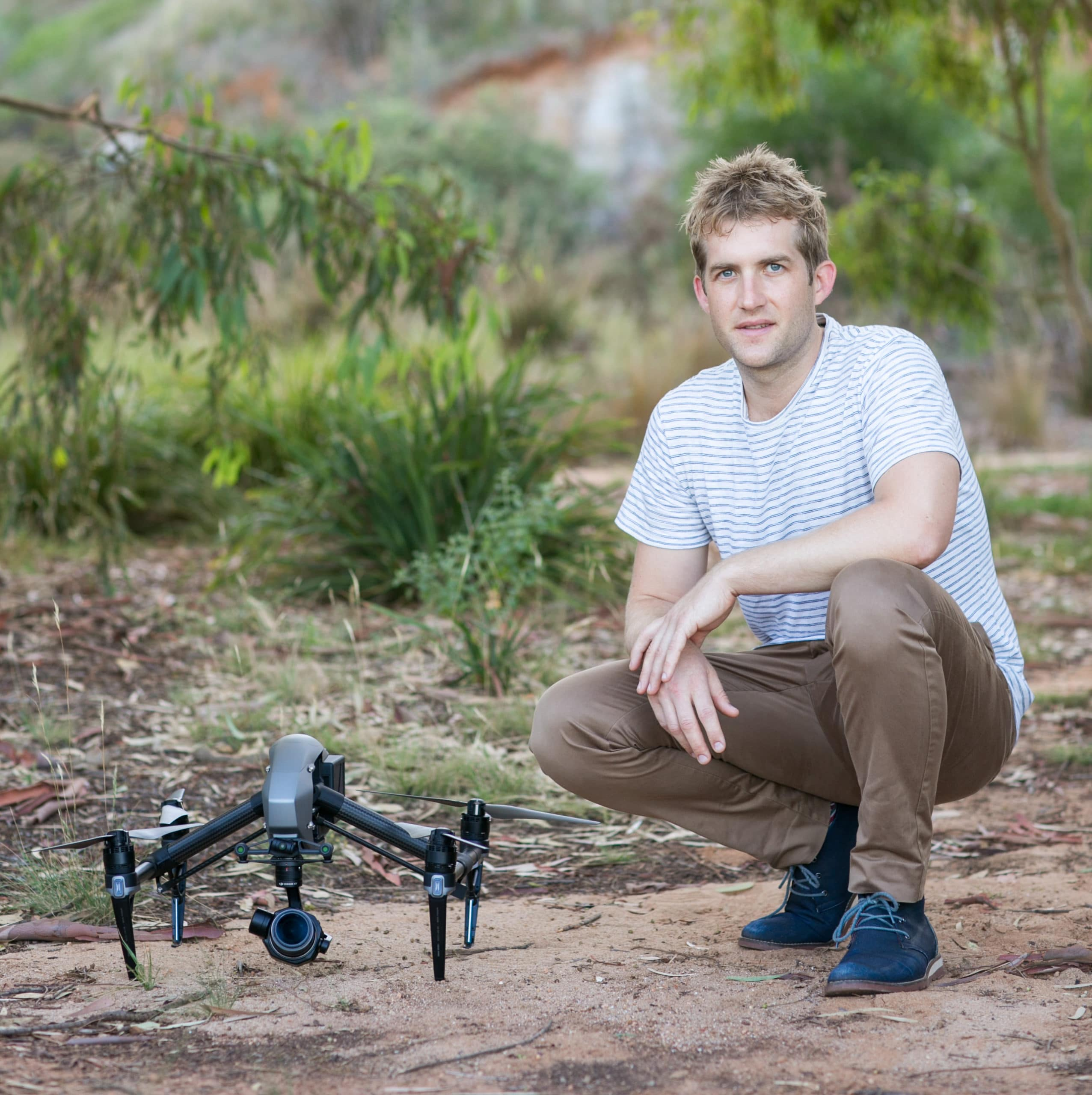 Hayden Smith Portrait Photo with Inspire 2 About Us